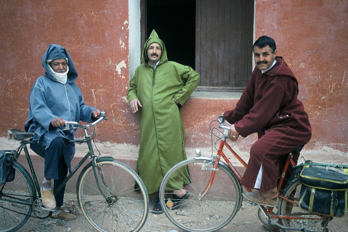 Radreise Marokko 2002-3 Marokkaner